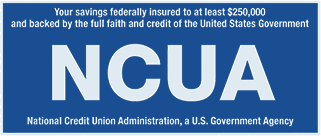 Federally insured by the National Credit Union Administration